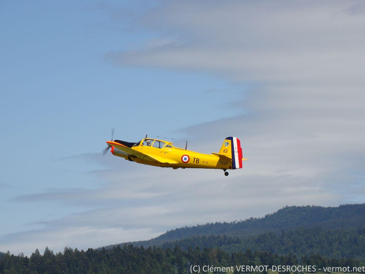 Le MS733 F-AZOH au décollage